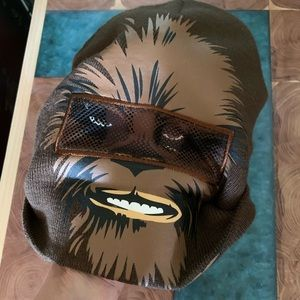 Chewbacca facemask beanie
